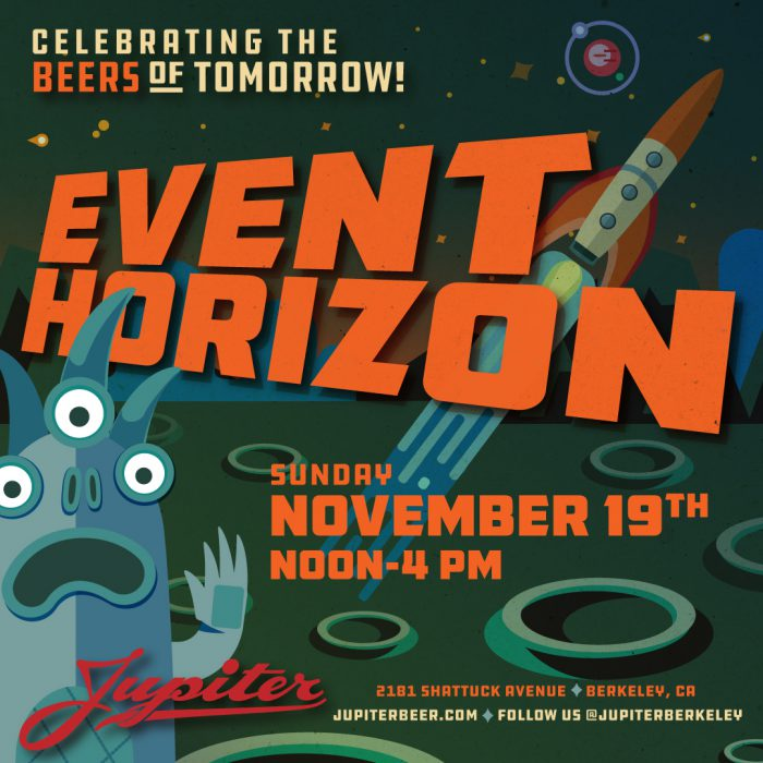 Jupiter Brewing Event Horizon Poster Series