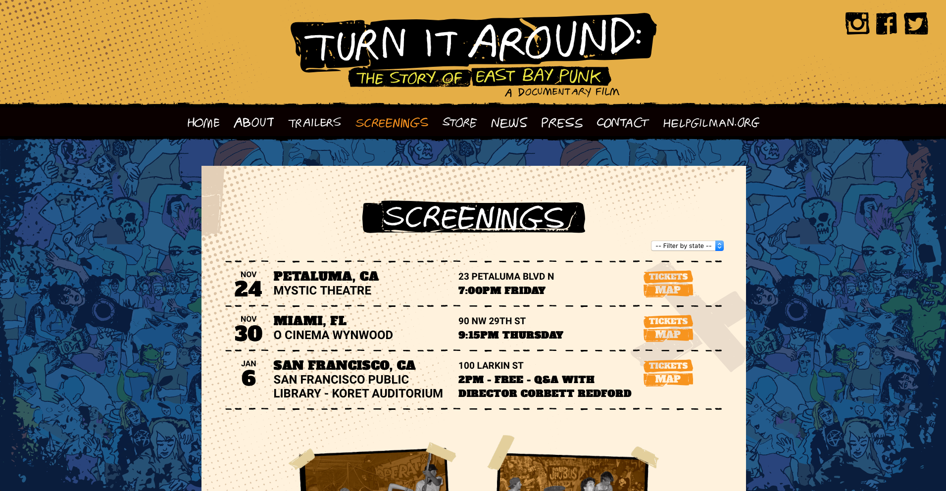 Green Day Inc  Turn It Around Documentary | Designed By Monkeys
