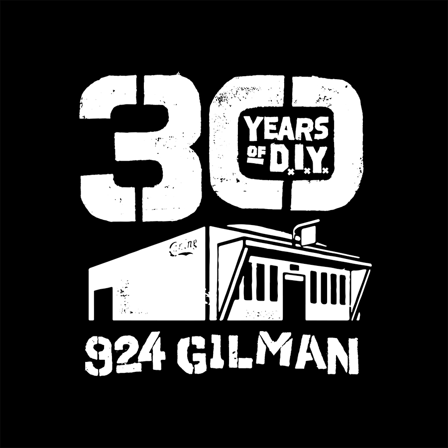 30th Anniversary of 924 Gilman Logo