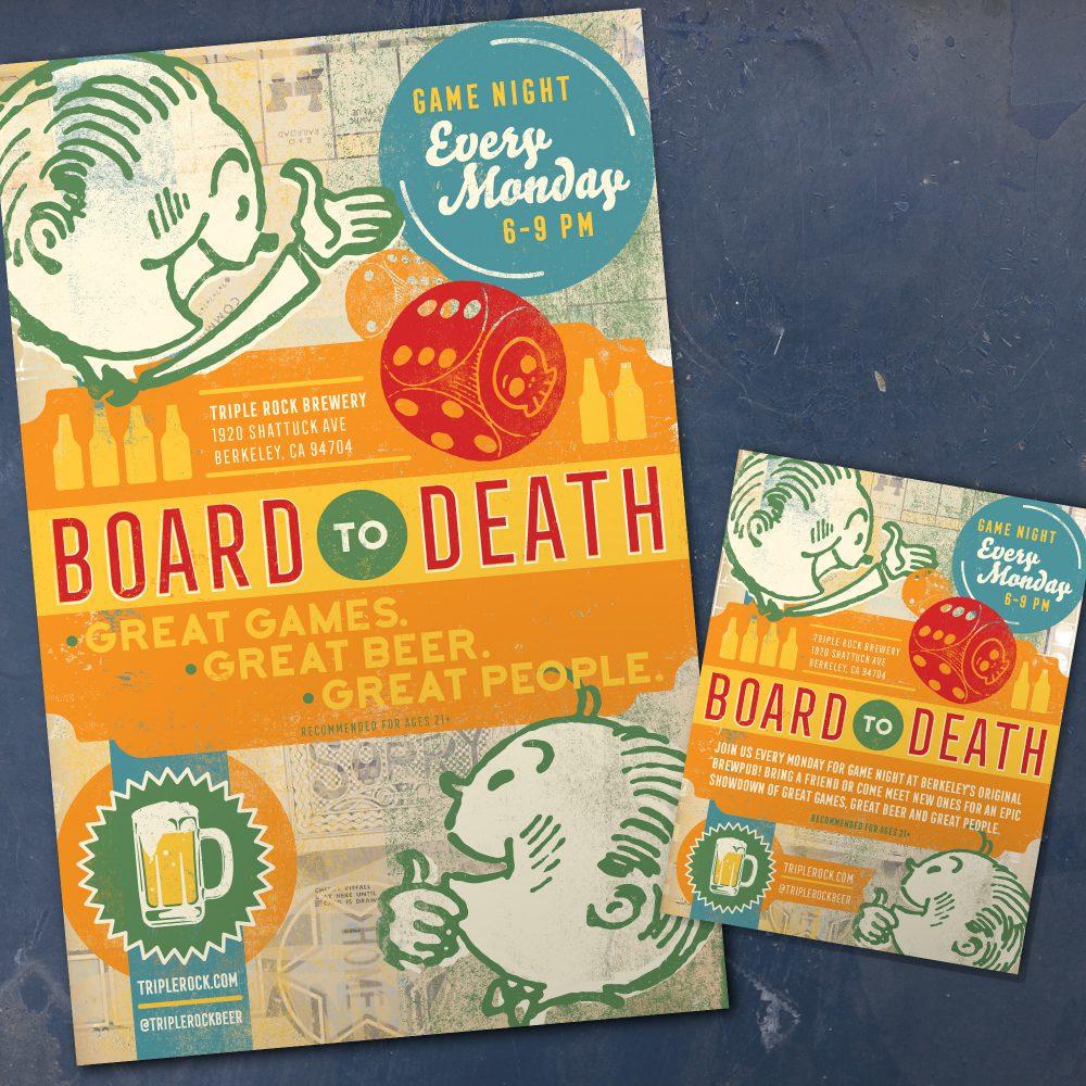 Triple Rock Brewery's Board to Death