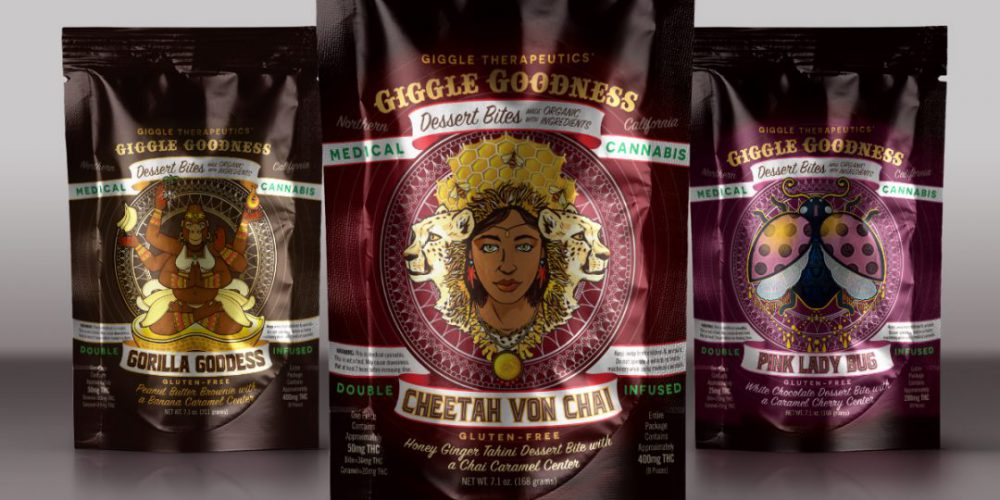 Giggle Therapeutics Packaging Illustrations