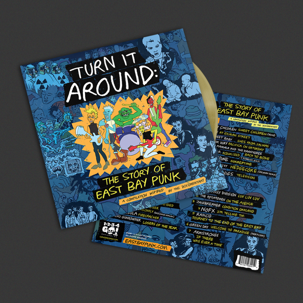 Turn it Around: The Story of East Bay Punk Soundtrack & DVD
