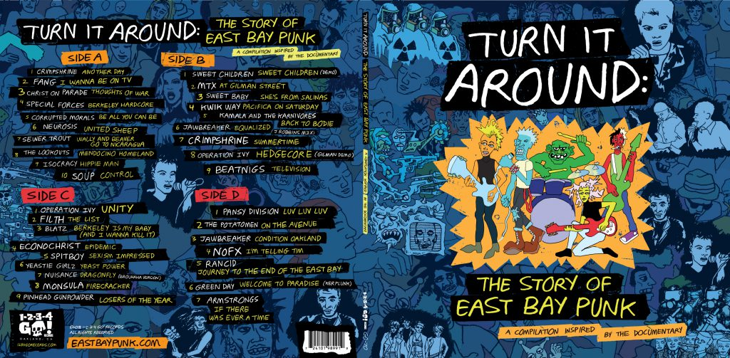 turn it around the story of east bay punk soundtrack dvd