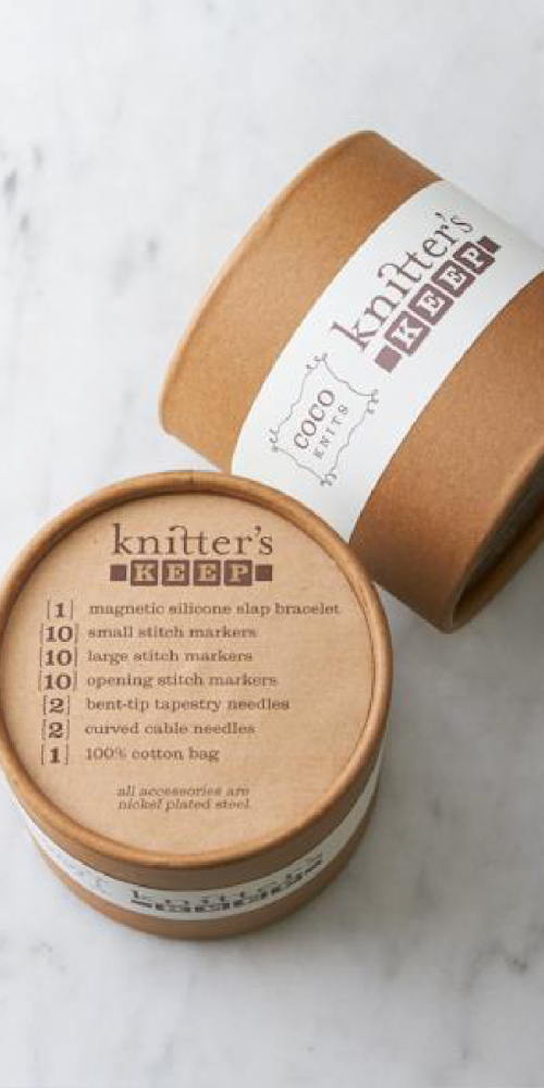 Knitter's Keep Packaging Design