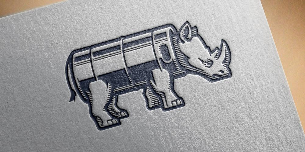 Drake's Brew Rhino Logo