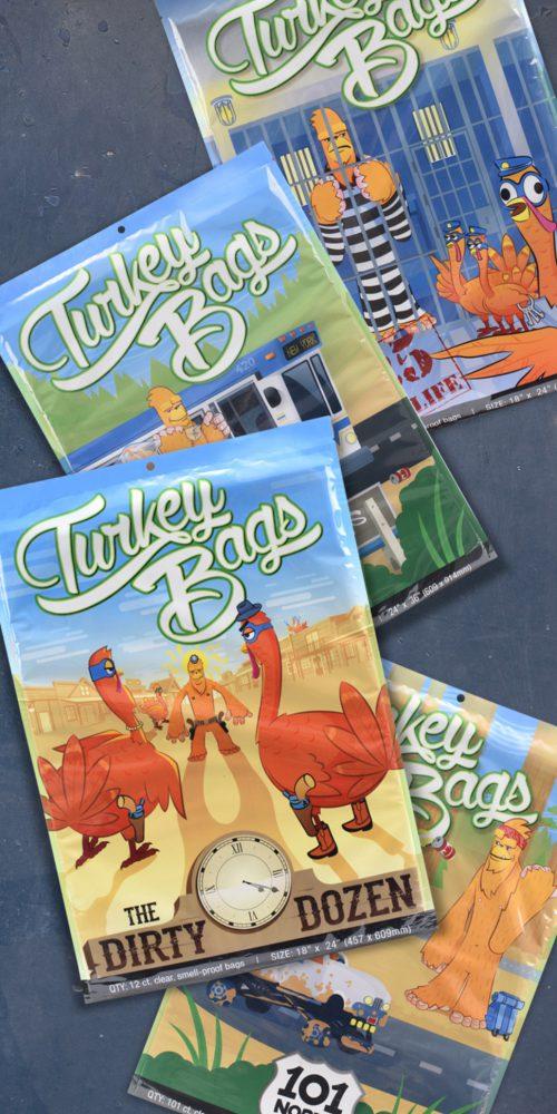 Turkey Bags with Hybrid Creative