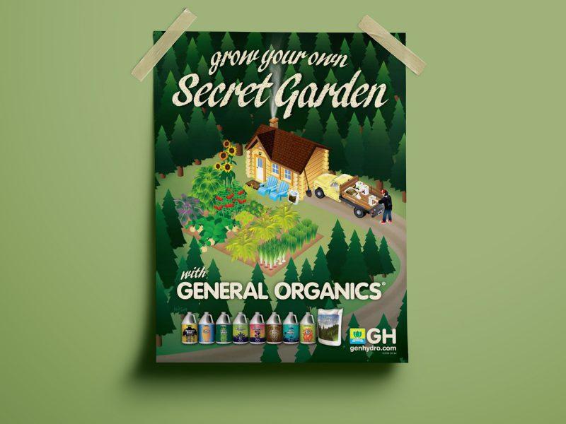 General Hydroponics Secret Garden Ad